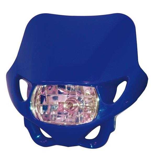 Plaque-phare Enduro Bleu - 780262 - Plaques Phares