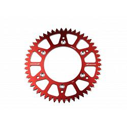 COURONNE ALU ANTI BOUE ROUGE BETA 250 300 350 430 480 2013-2021