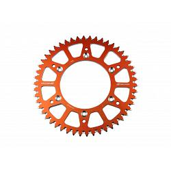 COURONNE ALU ANTI BOUE ORANGE KTM 85 SX 2021