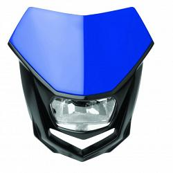PLAQUE PHARE ENDURO POLISPORT HALO BLEU